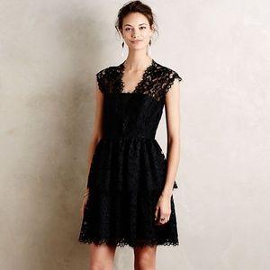 Anthropologie Shoshanna Solene Lace Dress